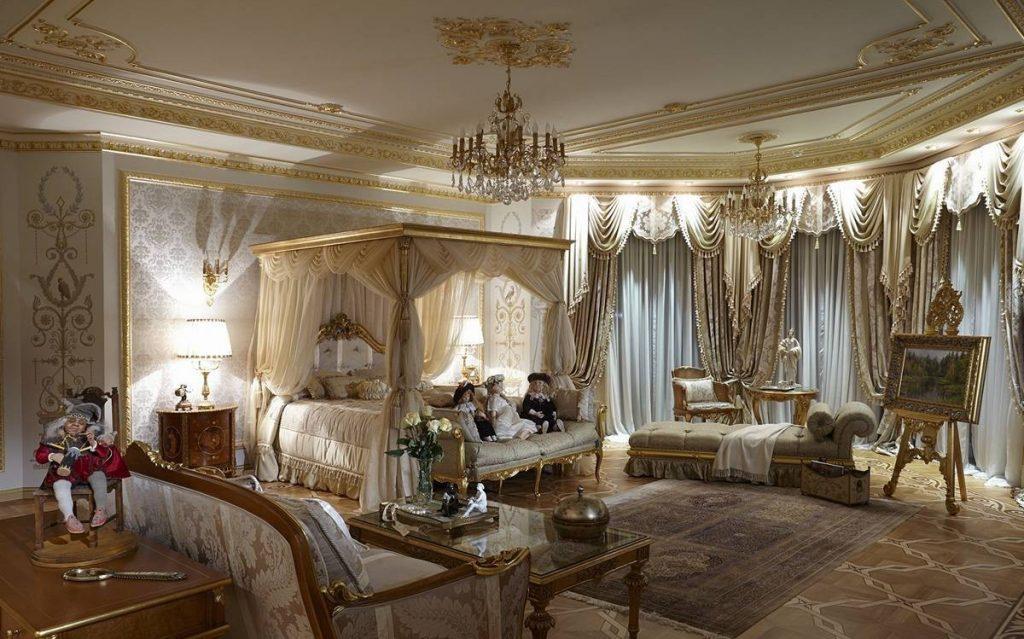 Примеры оформления дизайна квартиры в стиле барокко