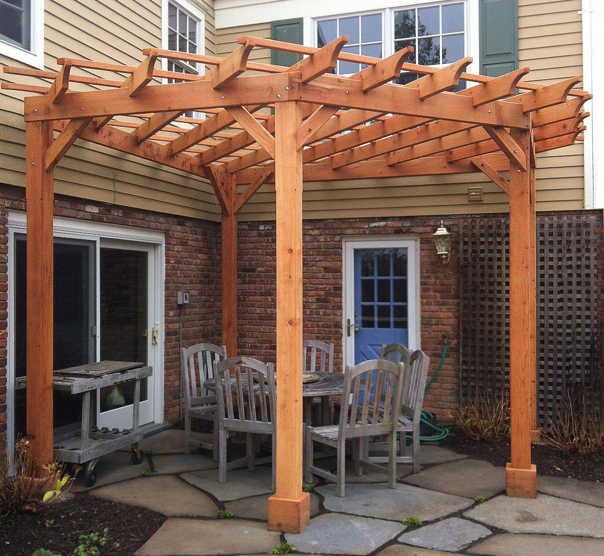 Пергола: проектирование, монтаж и украшение садовой конструкции своими руками