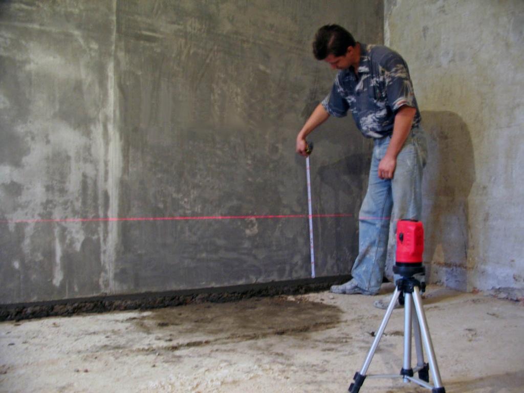 Как пользоваться лазерным уровнем: общие принципы и способы применения