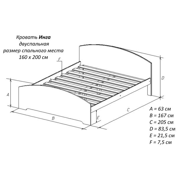 Как правильно подобрать размер матраса для кровати