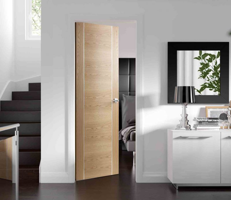 Межкомнатные двери в интерьере (67 фото): светлые и темные варианты для квартиры и для частного дома, реальные примеры и советы по выбору