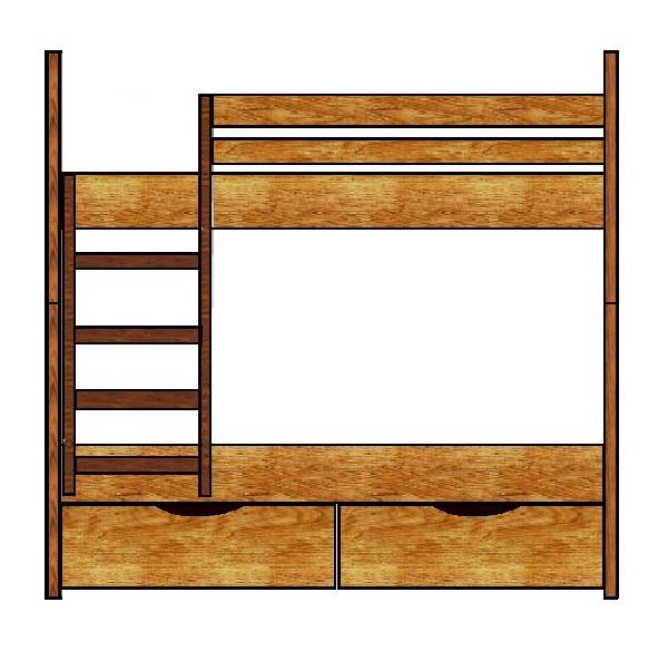 Как сделать двухъярусную кровать для детей - описание этапов работ