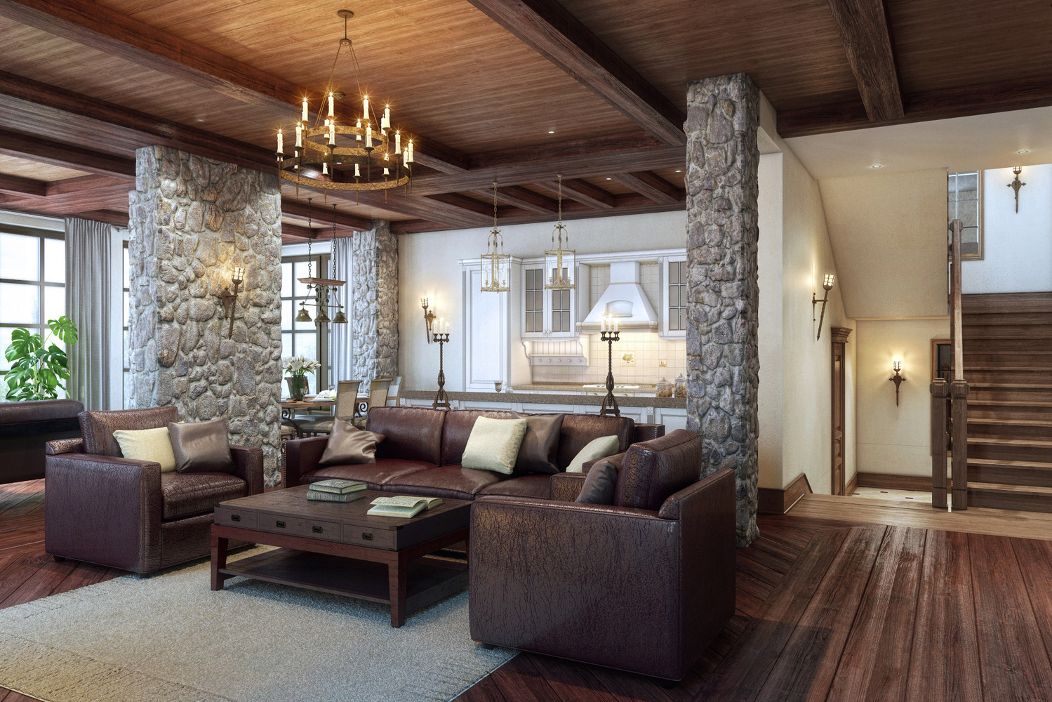 Особенности стиля кантри в интерьере комнат - уникальные фото идеи оформления деревенского стиля