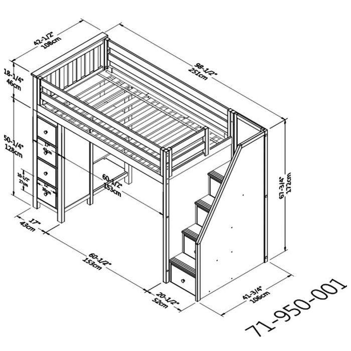 Кровать чердак для детей – организация и проектирование современной рабочей зоны (120 фото)