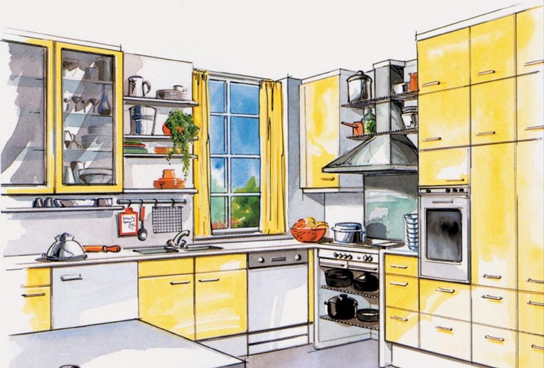 Найдите идеальную цветовую схему для своей кухни
