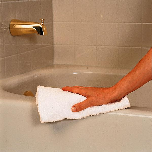 Чем и как мыть акриловую ванну не повредив ее