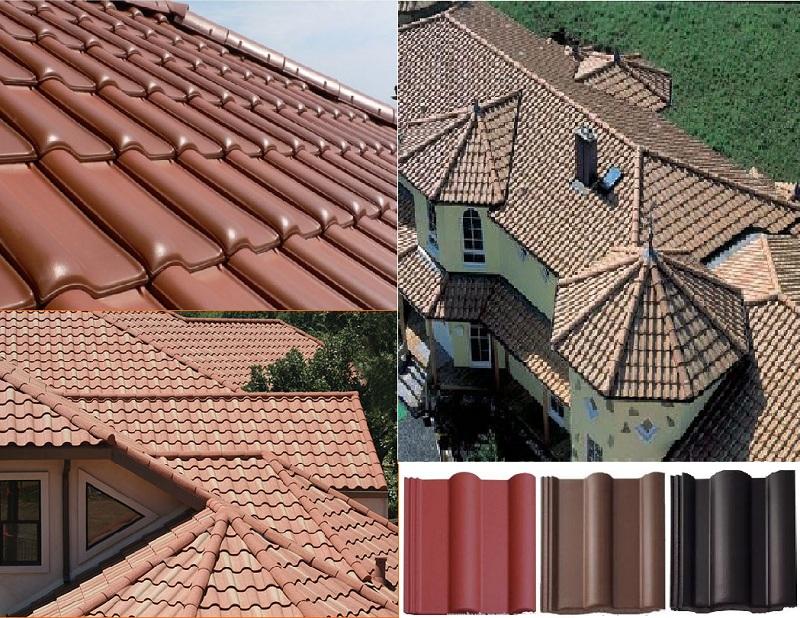 Виды крыши и материалы.