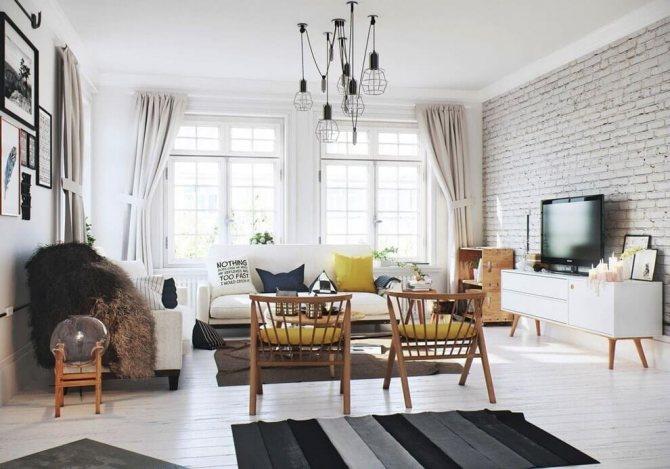10 потрясающих квартир, интерьер которых, выполнен в скандинавском стиле