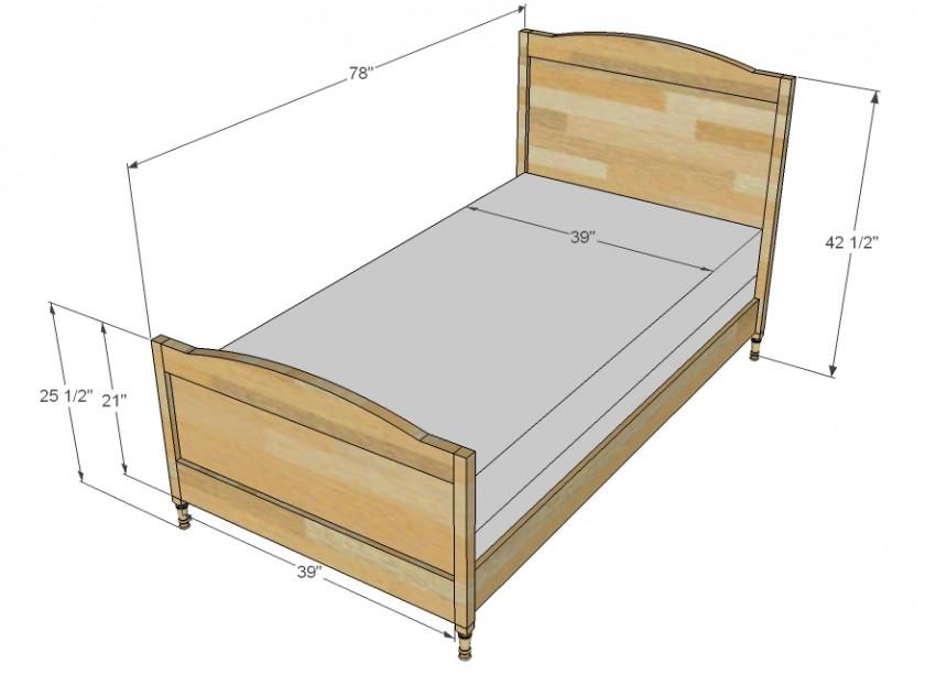 Размеры кроватей имеют значение