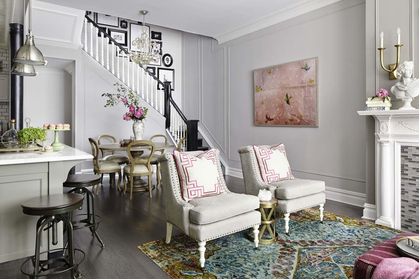 Американский стиль в интерьере квартиры и загородного дома: лучшие фото-статьи, идеи для дизайна