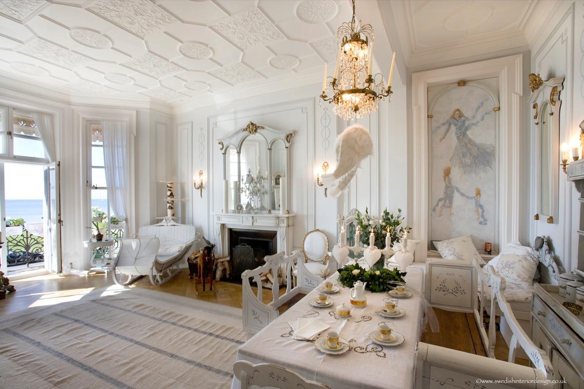 Дизайн интерьера в стиле барокко — источник голливудской роскоши для любых помещений