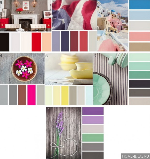 Лучшие идеи сочетаний цветов в интерьере: таблицы и правила для создания гармоничного дизайна