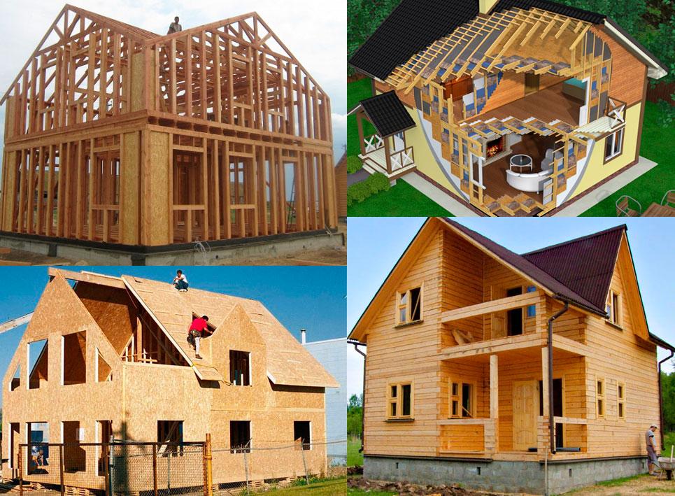 Сравнительный анализ конструкций из бруса и каркасных домов