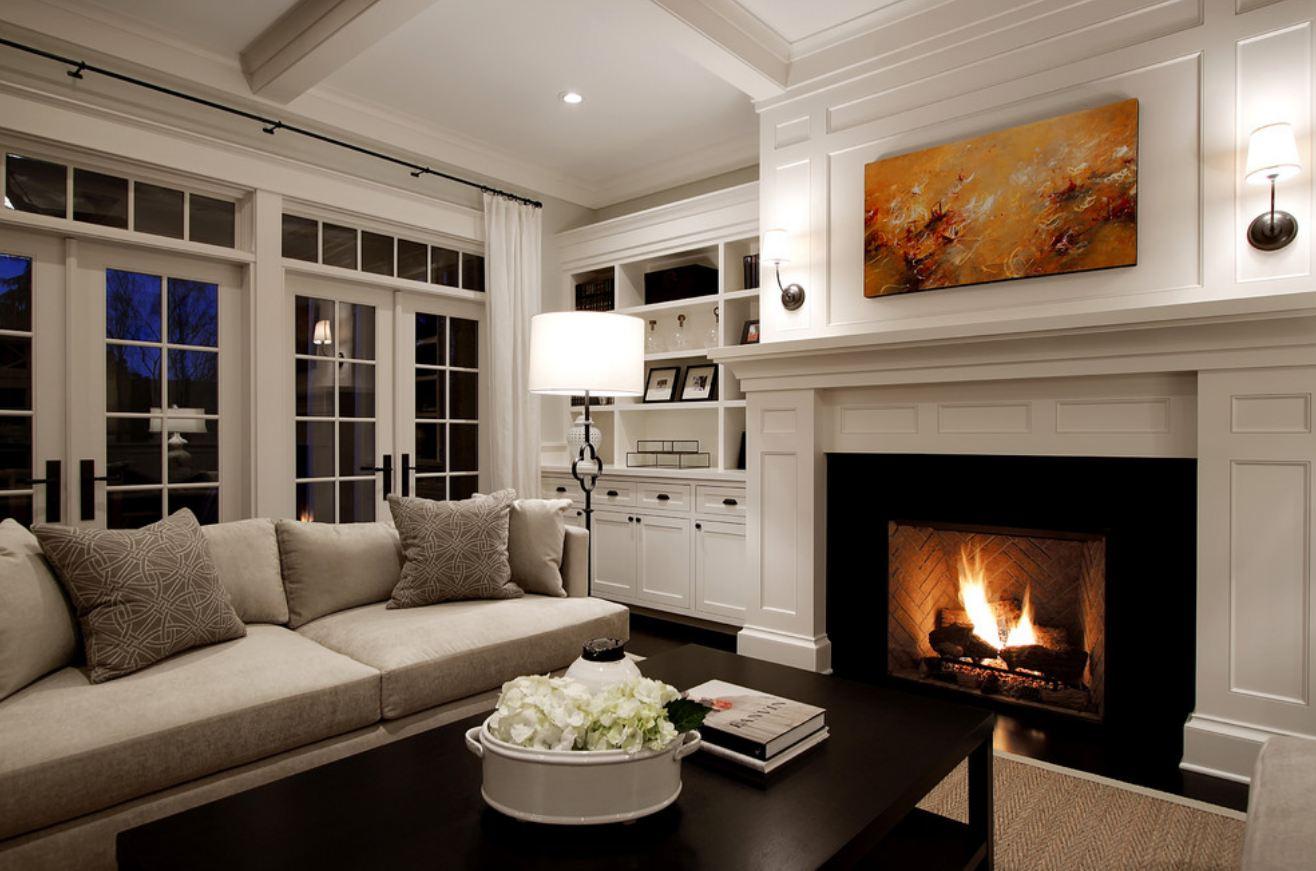 50 идей оформления спальни с камином: создайте умиротворяющую атмосферу романтики и тепла