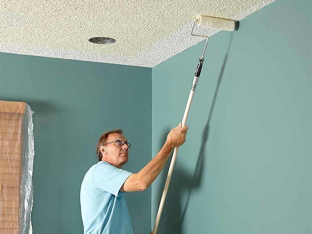 Побелить потолок: советы для новичков и обзор самых простых способов (80 фото)