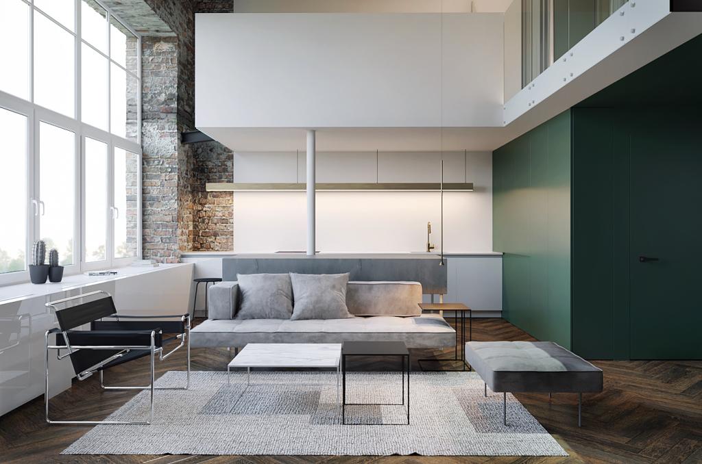 Оформление интерьера квартир в стиле минимализм