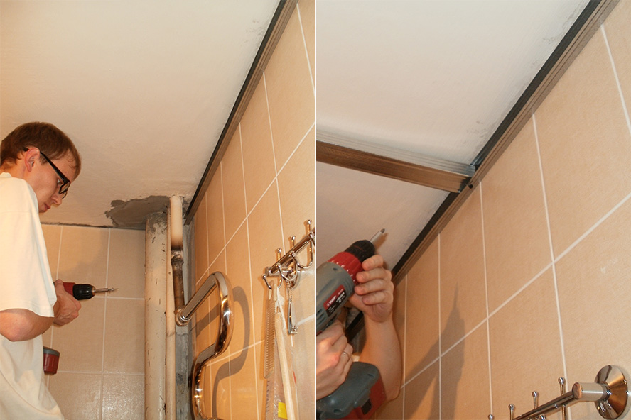 Ремонт ванной комнаты пвх панелями