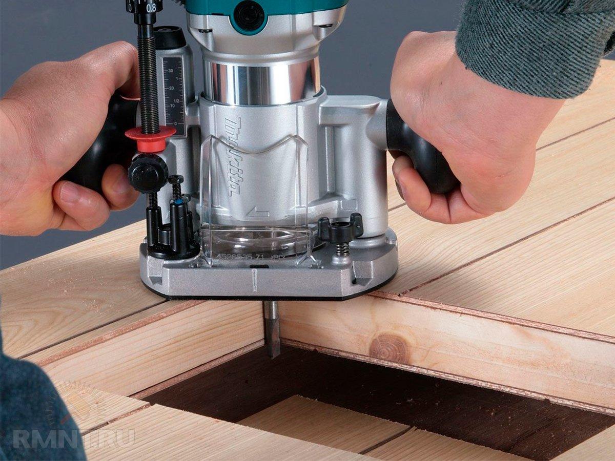 Как выбрать ручной фрезер по дереву для домашних работ