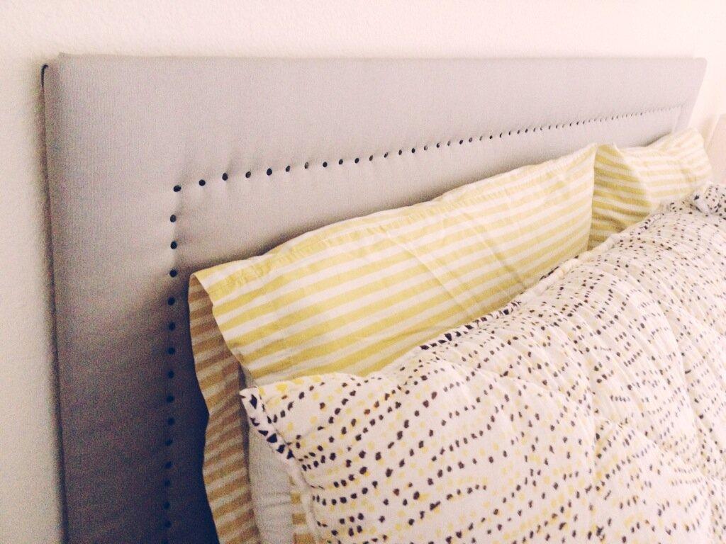 Как сделать мягкое изголовье кровати своими руками