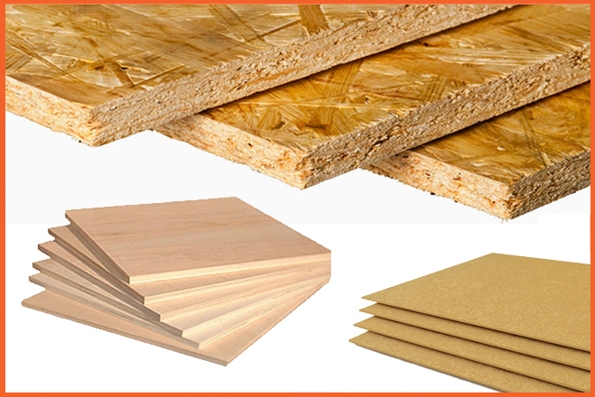 Что лучше - фанера или осб? что крепче и экологичнее, вреднее и безопаснее? чем они отличаются и что дешевле выбрать на пол и потолок?