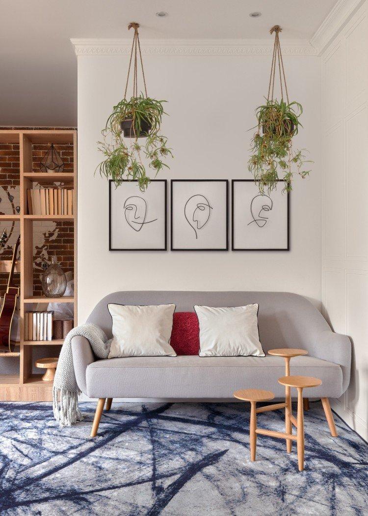 Практичные советы по организации пространства маленькой квартиры в скандинавском стиле