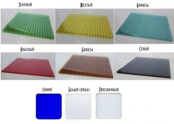 Виды листового поликарбоната: сравнение характеристик и область применения