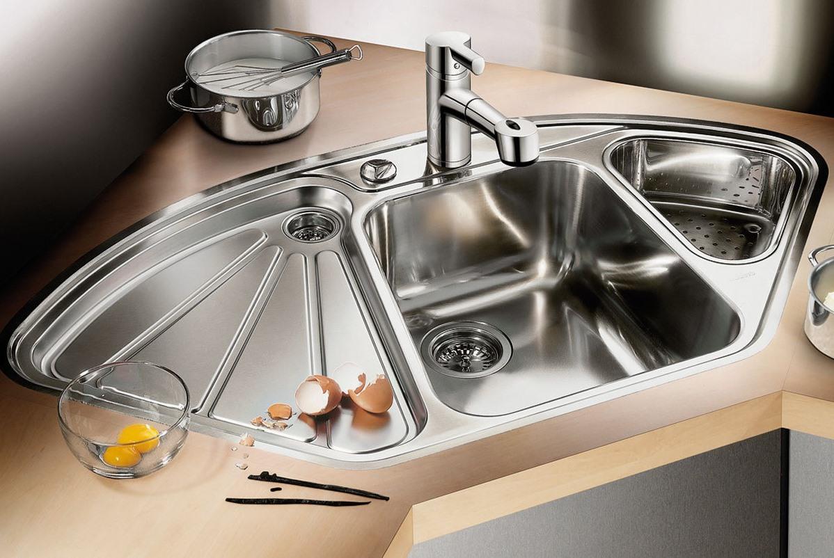 Все о размерах кухонной мойки