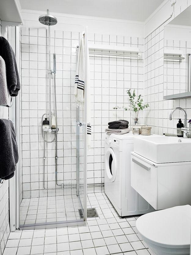 Ванная в скандинавском стиле: 5 атрибутов и 115 реальных фото