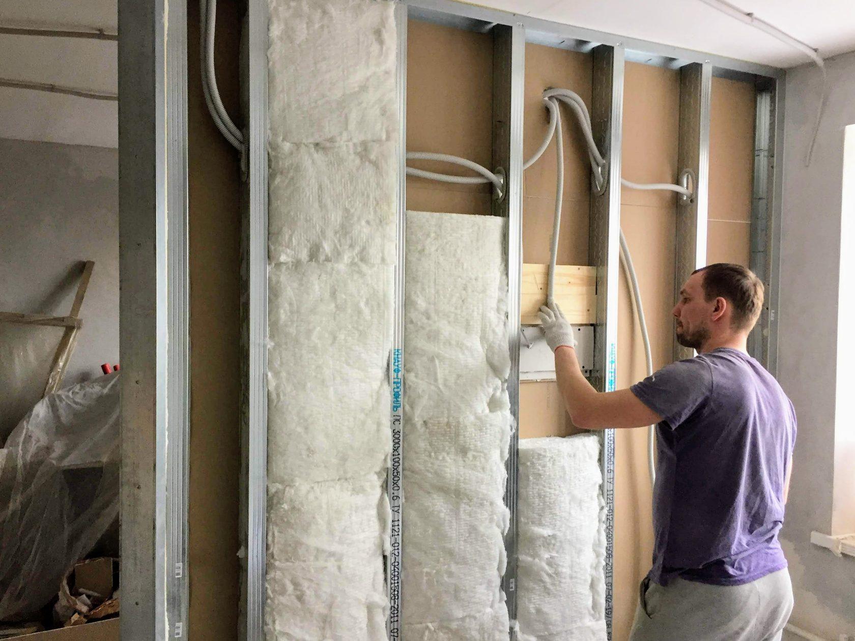 Шумоизоляция стен: как и чем можно сделать своими руками звукоизоляцию в квартире
