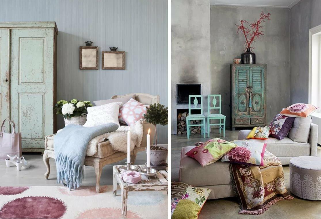 Спальня в стиле шебби-шик – идеи оформления интерьера дома