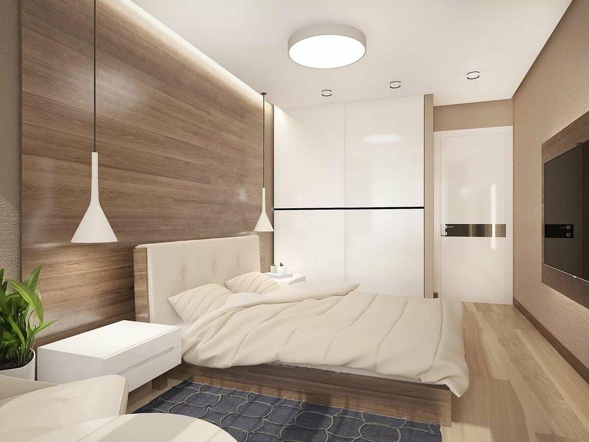 Дизайн спальни в стиле минимализм: отделка, мебель и декоративные штрихи