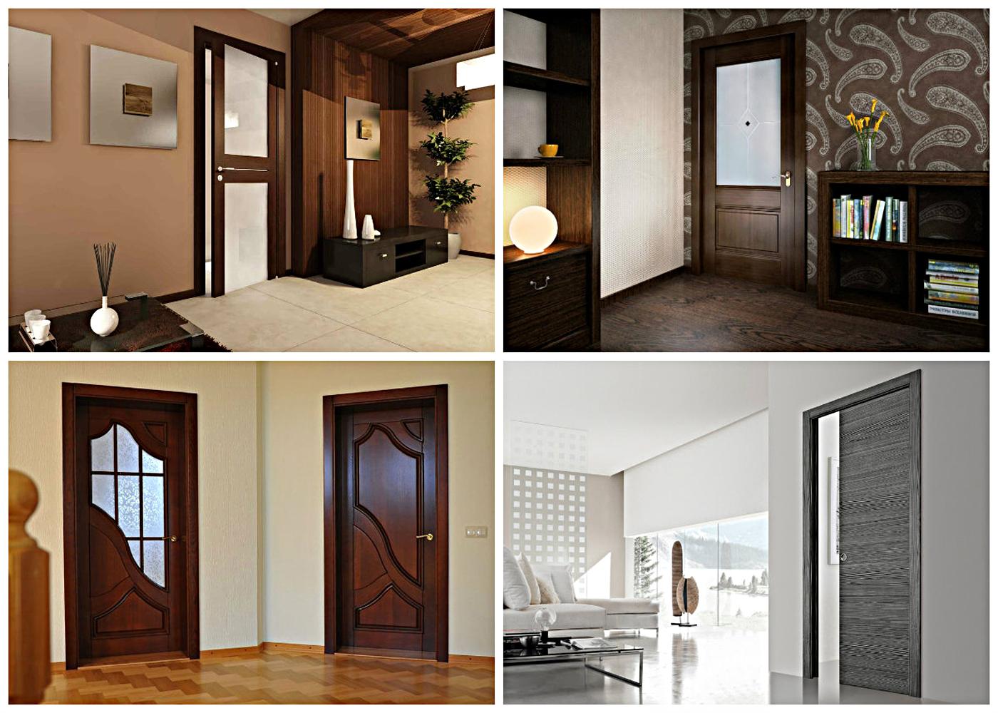 Двери в прихожую и коридор: виды, дизайн, цвет, сочетания, фото в интерьере
