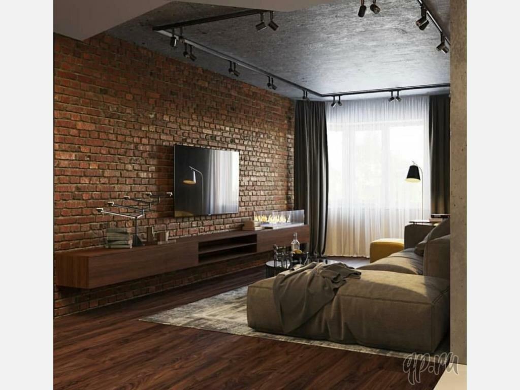 Квартира студия в стиле лофт: топ-100 фото оригинальных идей дизайна