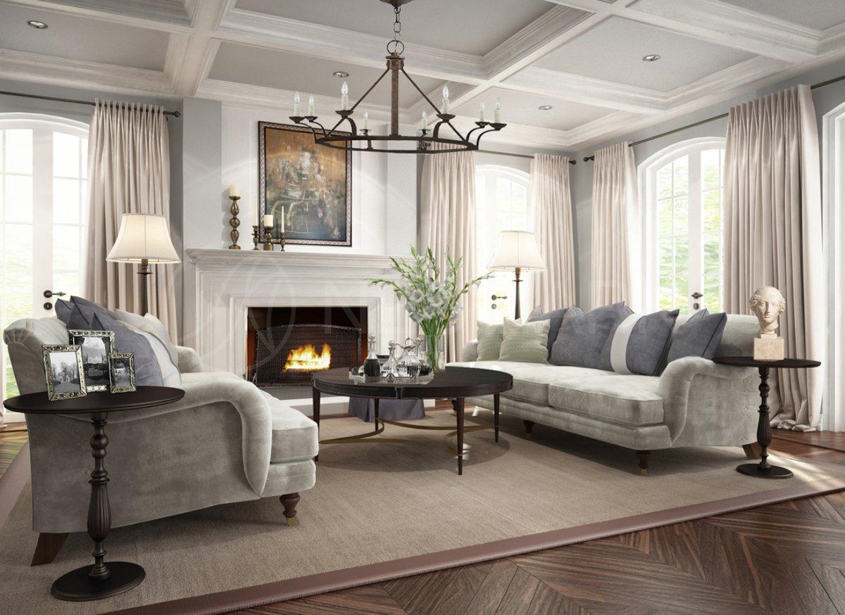 Американский стиль в жилом интерьере как воплощение уюта и простоты