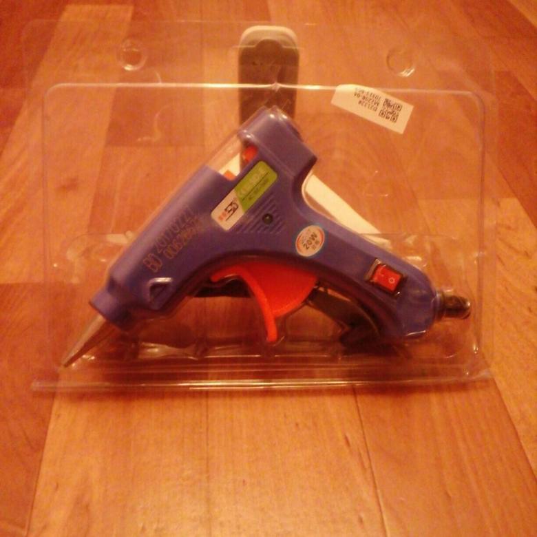 Как использовать клеевой пистолет