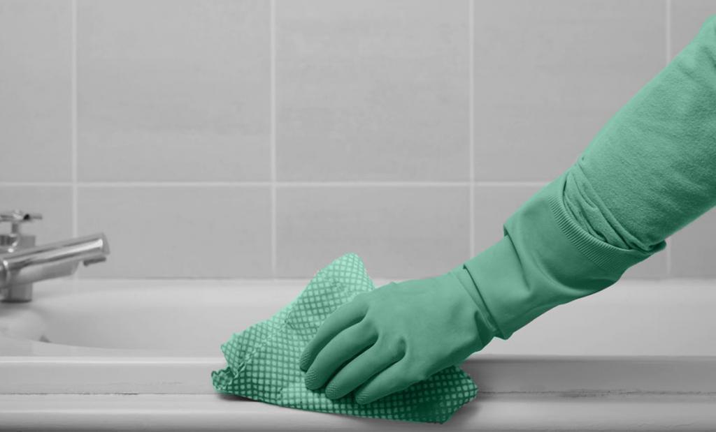 Бережная чистка акриловой ванны в домашних условиях