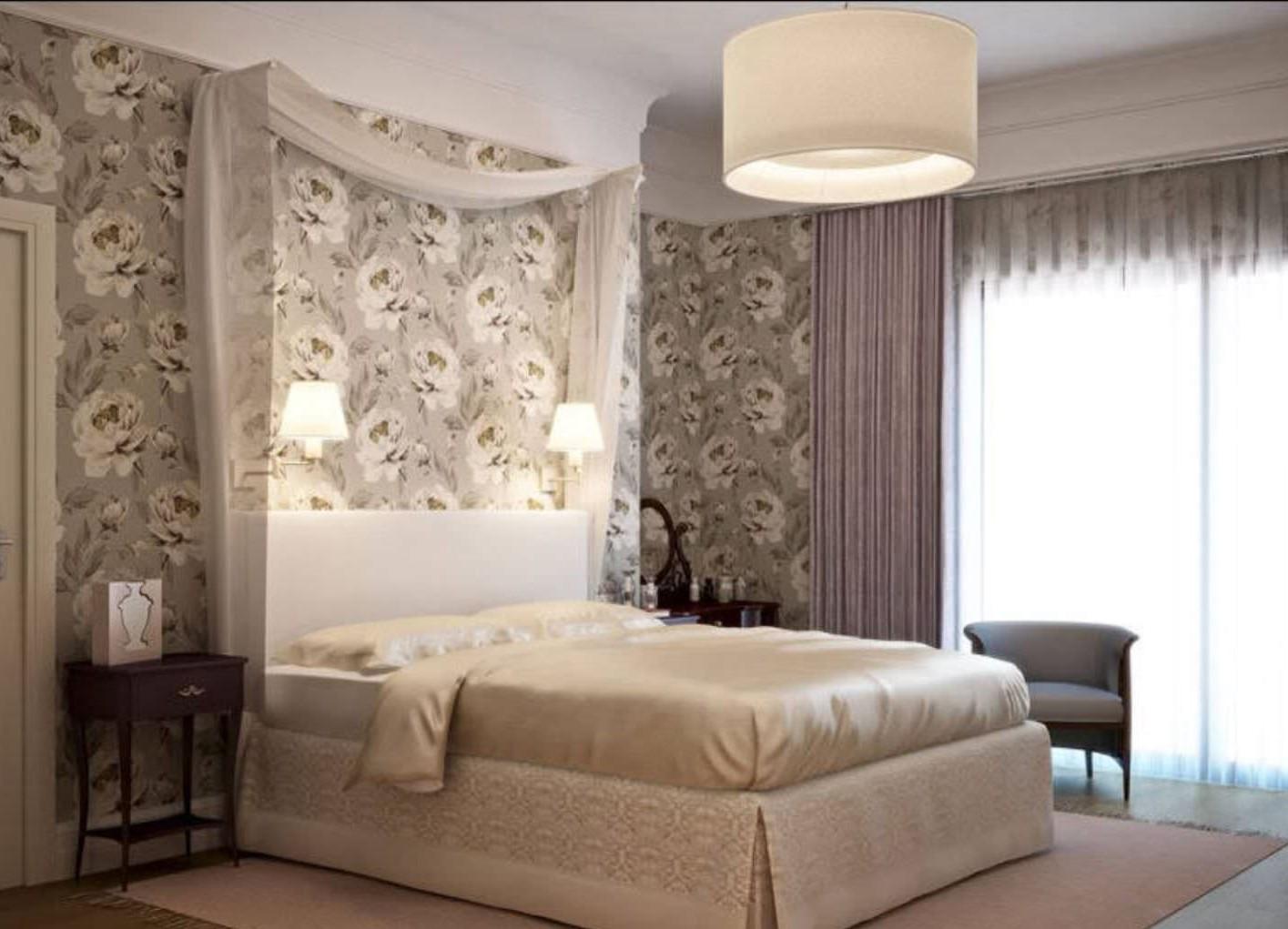 Обои для спален (156 фото): дизайн интерьеров, модные и современные идеи 2020, какие обои лучше подходят: светлые или темные
