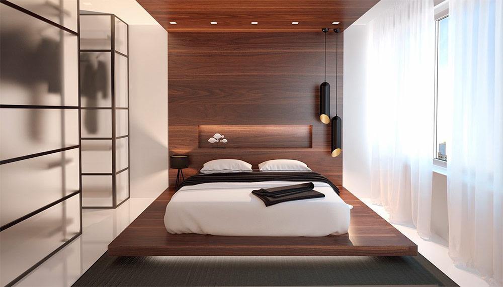 Спальня в стиле минимализм: оформление интерьера, как обустроить детскую, фото