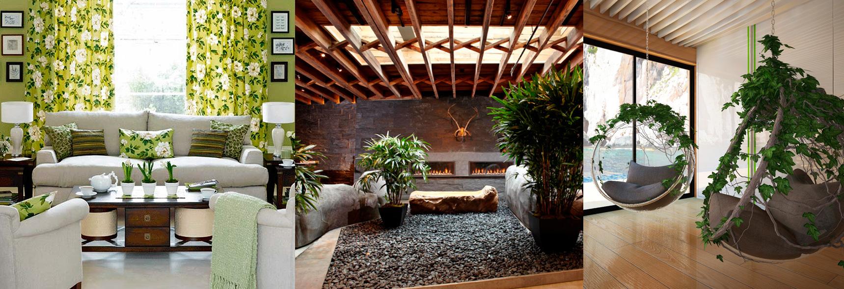 Применение эко-стиля в интерьерах квартир