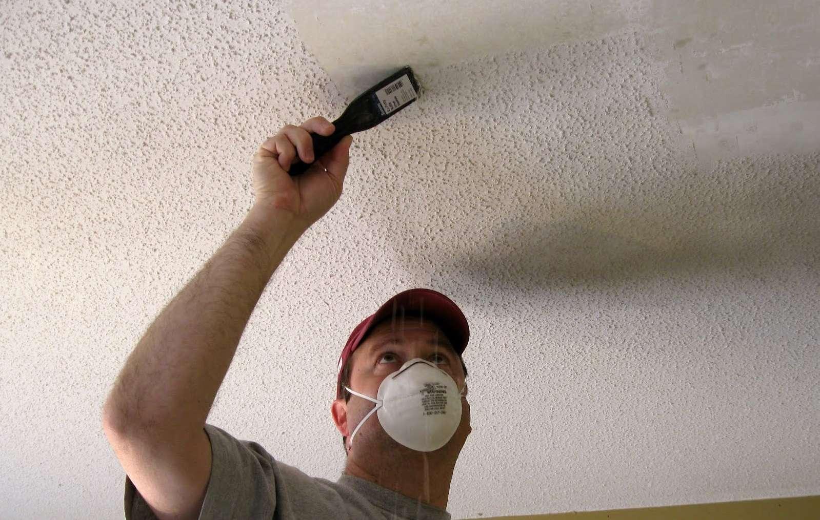 Как побелить потолок своими руками - пошаговая инструкция!