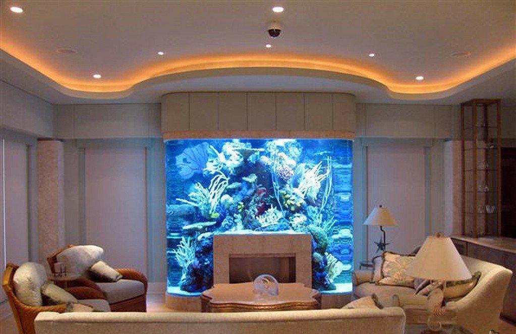 10 шикарных идей, как аквариум превратить в элемент декора