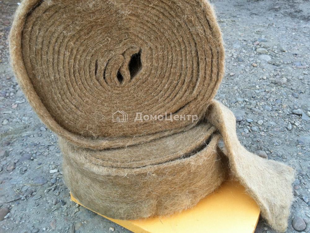 Джут для бруса. как выбрать межвенцовый утеплитель для дома из бруса или бревна