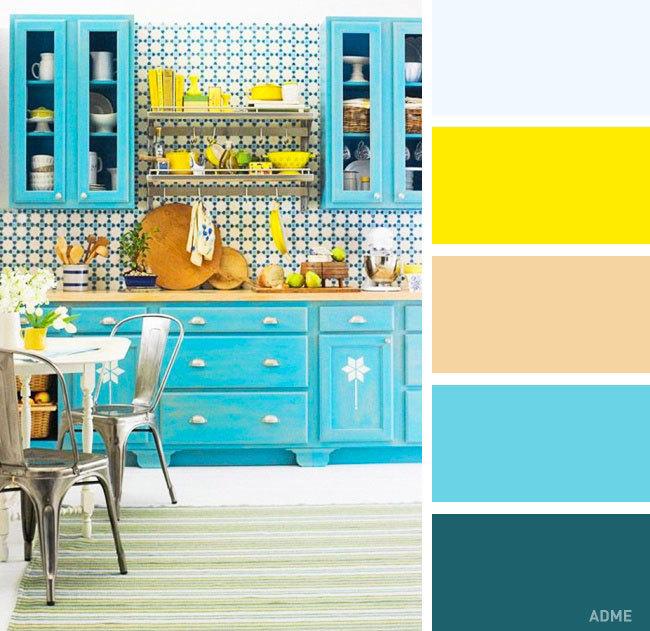 Выбираем правильное сочетание цветов в интерьере кухни