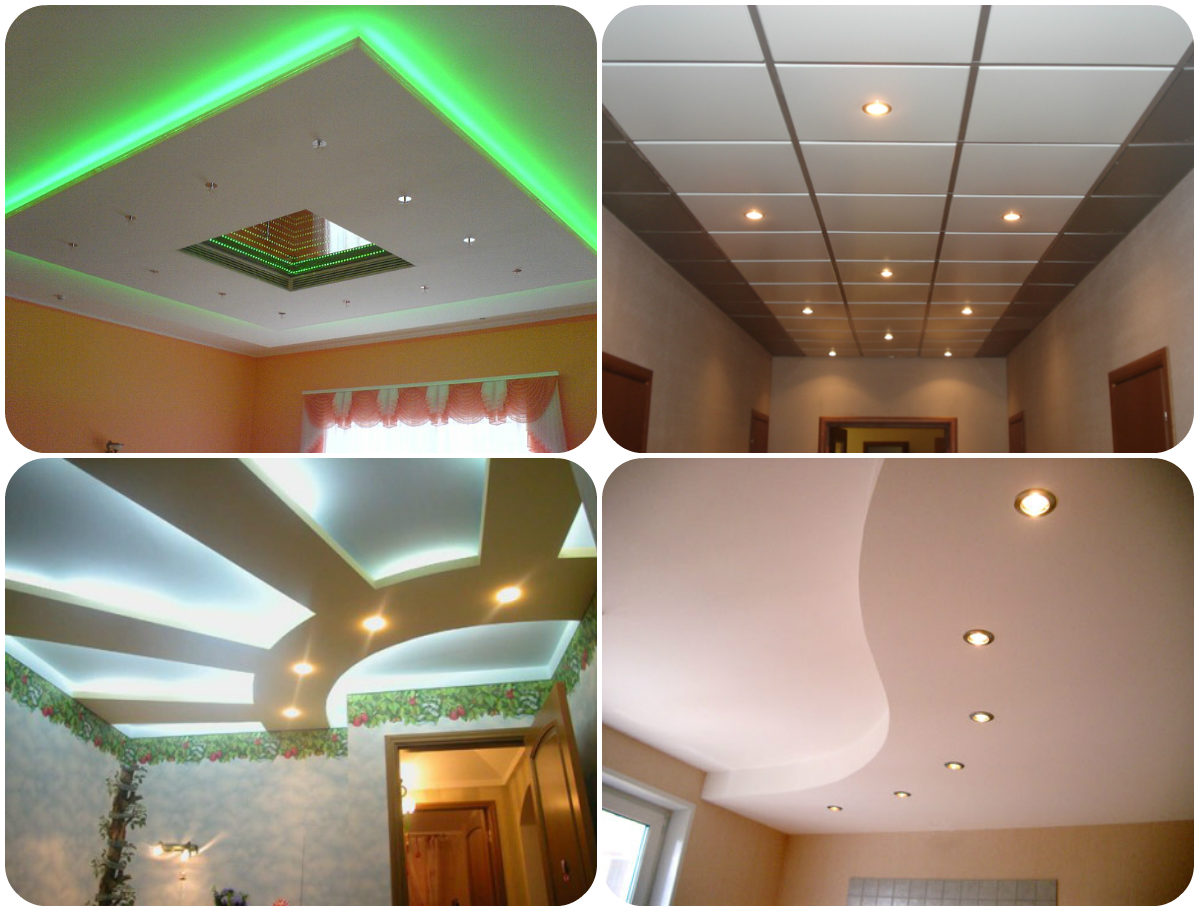 Что выбрать - натяжной потолок матовый или глянцевый, какой лучше и практичнее