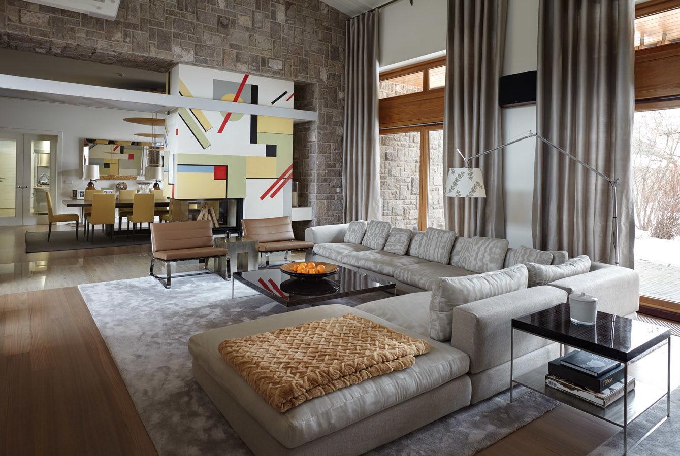 Дизайн интерьера в стиле контемпорари: описание, выбор отделки, мебели и декора
