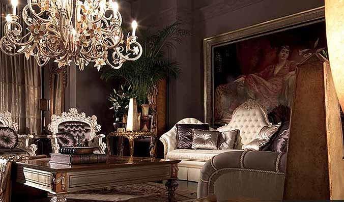 Дизайн комнат в стиле барокко - интересные фото новинки, советы, идеи