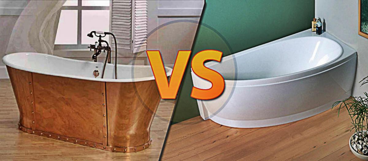 Акриловая ванна: плюсы и минусы, советы по выбору