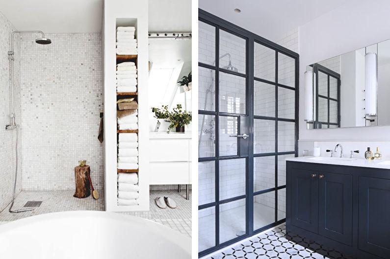 Ванная комната в скандинавском стиле: правила оформления, тренды, 70+ фото для вдохновения