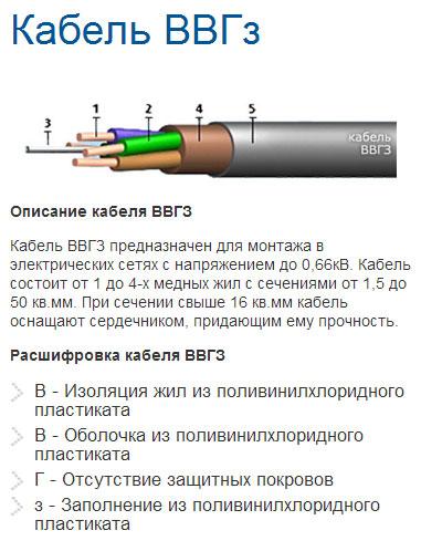 Характеристики кабеля., калькулятор онлайн, конвертер