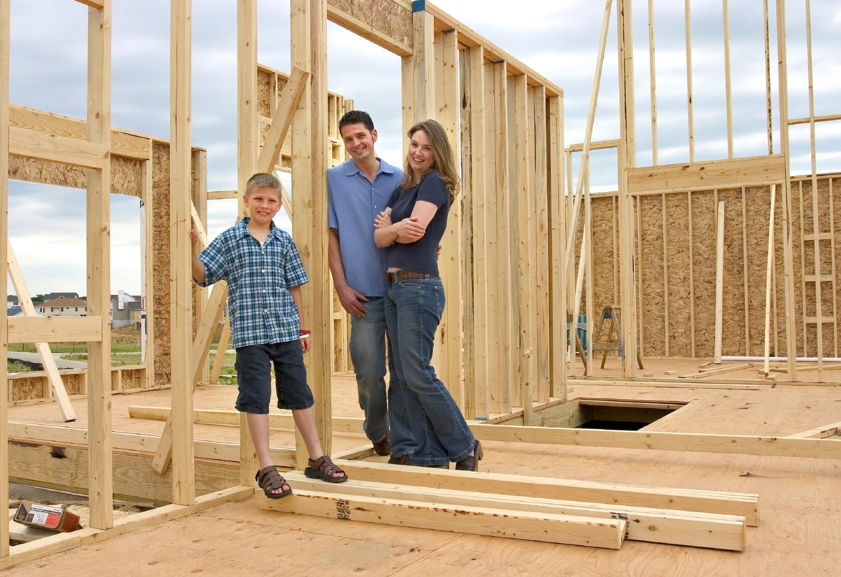 Как начать строить дом на участке